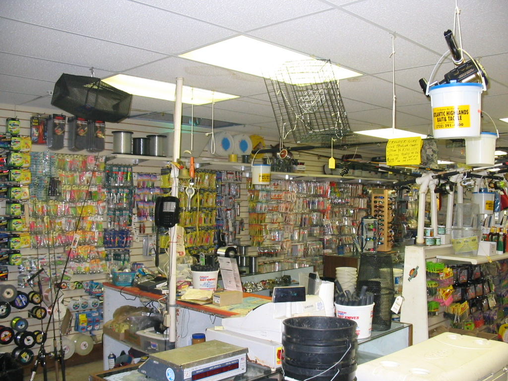 Atlantic highlands bait tackle we have an extensive assortment of bait and tackle as well as accessories specifically designed to help you catch more fish period nvjuhfo Image collections